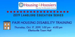 Fair Housing Disability Training